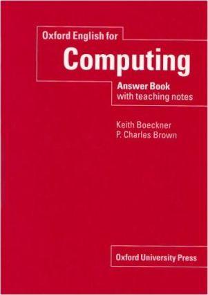 Oxf.English FOR COMPUTING ANS.BOOK