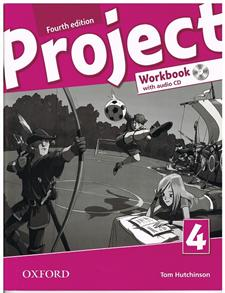 Project 4. 4th edition. Workbook + Audio CD + Online Practice