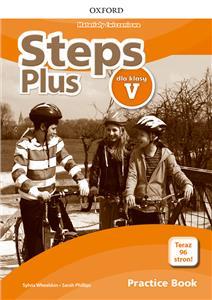 Steps Plus. Szkoła podstawowa klasa 5. Materiały ćwiczeniowe + Online Practice