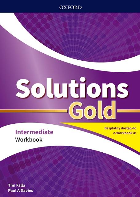 Solutions Gold. Intermediate. Workbook + kod online. Wyd.2020
