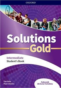 Solutions Gold. Intermediate. Student's Book