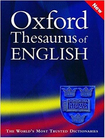 Oxford Thesaurus of English HB New Big