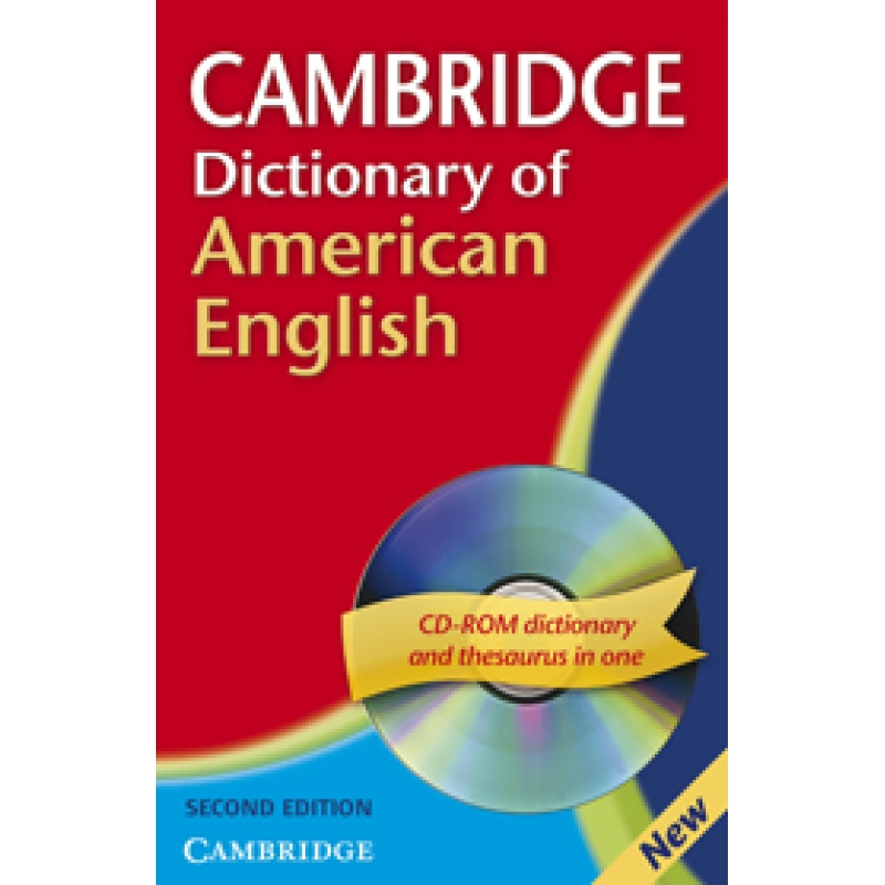 Cambridge Dictionary of American English + CD