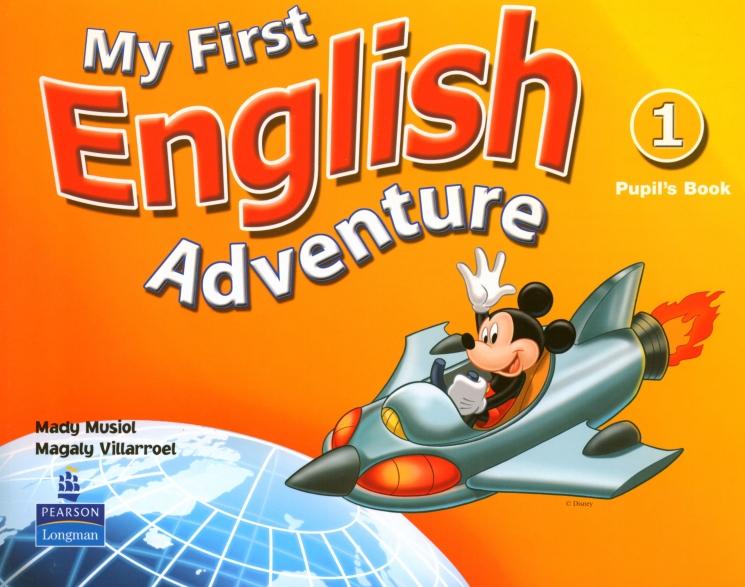 My First English Adventure 1.   Podręcznik + DVD