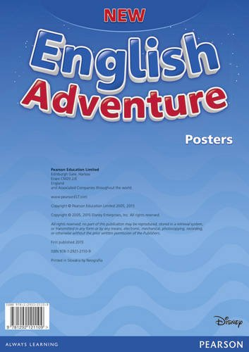 New English Adventure Starter. Plakaty