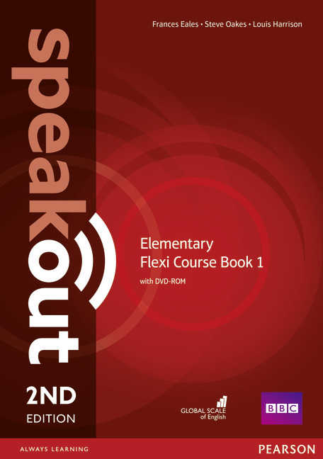 Speakout 2ed Elementary Flexi Course Book 1 + DVD