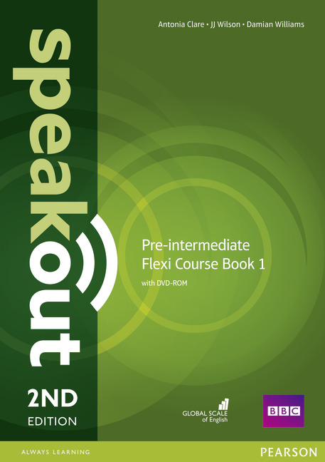 Speakout 2ed Pre-Intermediate Flexi Course Book 1 with DVD-ROM