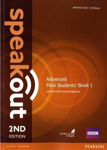 Speakout 2ed Advanced Flexi Students' Book 1 with DVD-ROM and MyEnglishLab
