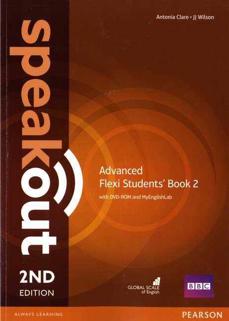 Speakout 2ed Advanced Flexi Students' Book 2 with DVD-ROM and MyEnglishLab