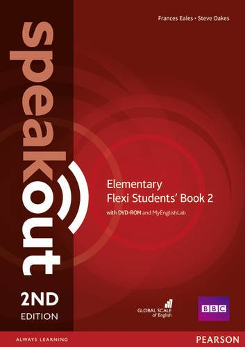 Speakout 2ed Elementary Flexi Students' Book 2 with DVD-ROM and MyEnglishLab