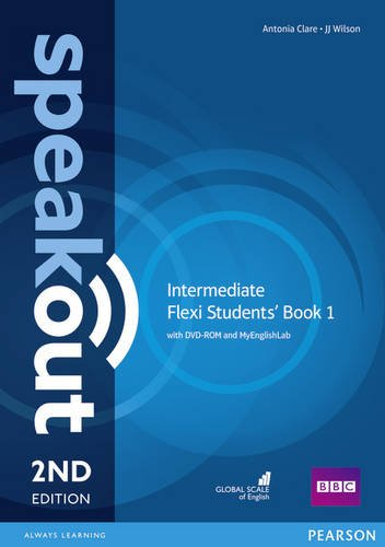 Speakout 2ed Intermediate Flexi Students' Book 1 with DVD-ROM and MyEnglishLab