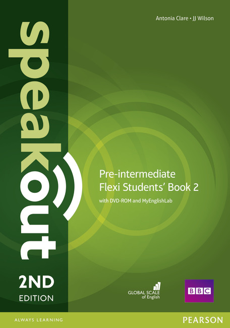 Speakout Pre-Intermediate 2nd Edition Flexi Students' Book 2 with DVD-ROM and MyEnglishLab
