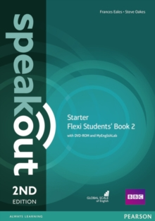 Speakout 2ed Starter Flexi 2 Students' Book 2 with DVD-ROM and MyEnglishLab