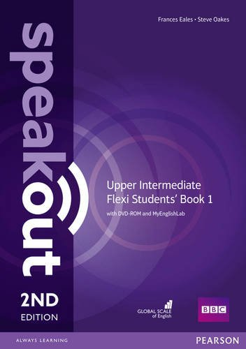 Speakout 2ed Upper-Intermediate Flexi Students' Book 1 with DVD-ROM MyEnglishLab