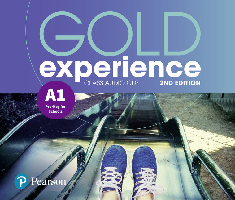 Gold Experience 2nd Edition A1. CD do Podręcznika