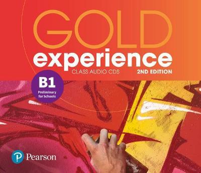 Gold Experience 2nd Edition B1. CD do Podręcznika