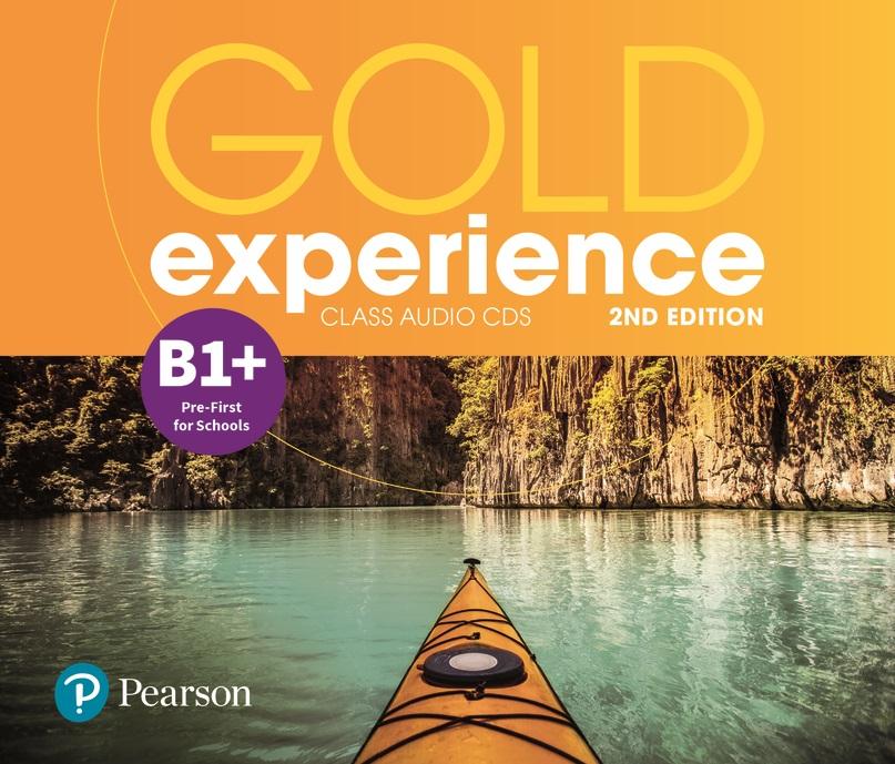 Gold Experience 2nd Edition B1+. CD do Podręcznika