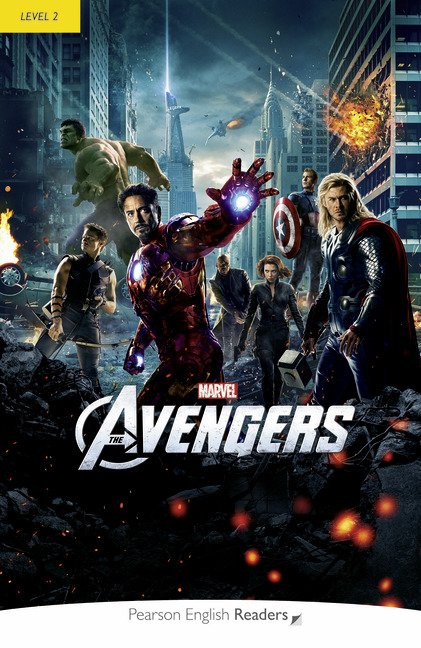 Marvel's Avengers + MP3. Pearson English Readers