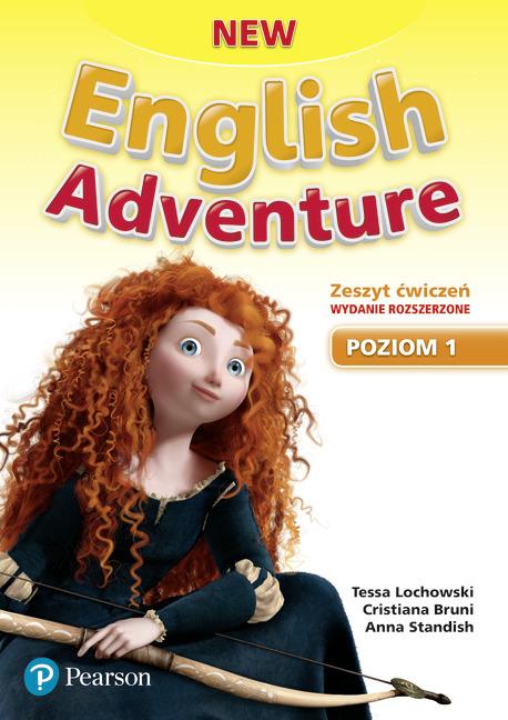 New English Adventure PL 1 AB + DVD (materiał ćwiczeniowy) wydanie rozszerzone