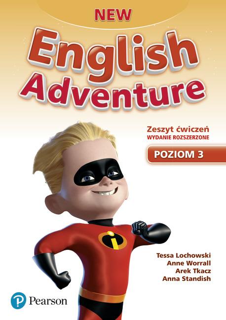 New English Adventure PL 3 AB + DVD (materiał ćwiczeniowy) wydanie rozszerzone