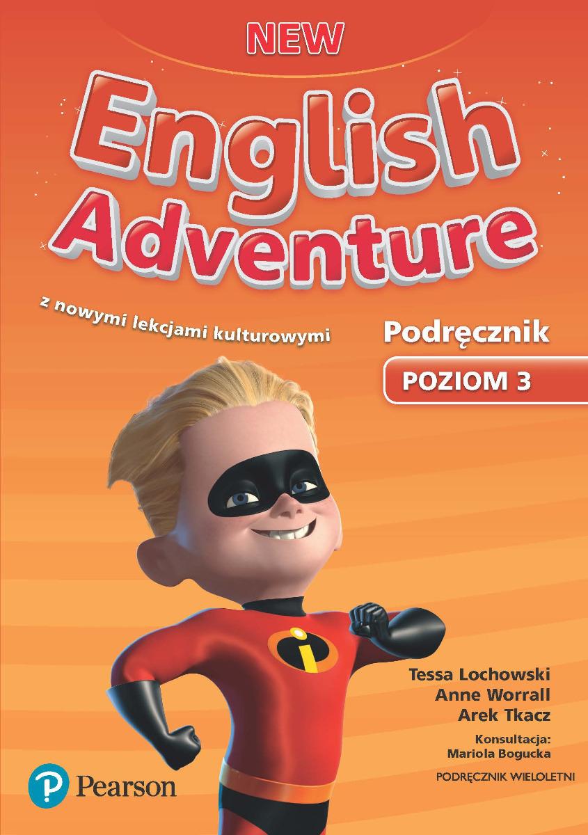 New English Adventure 3. Podręcznik Wieloletni