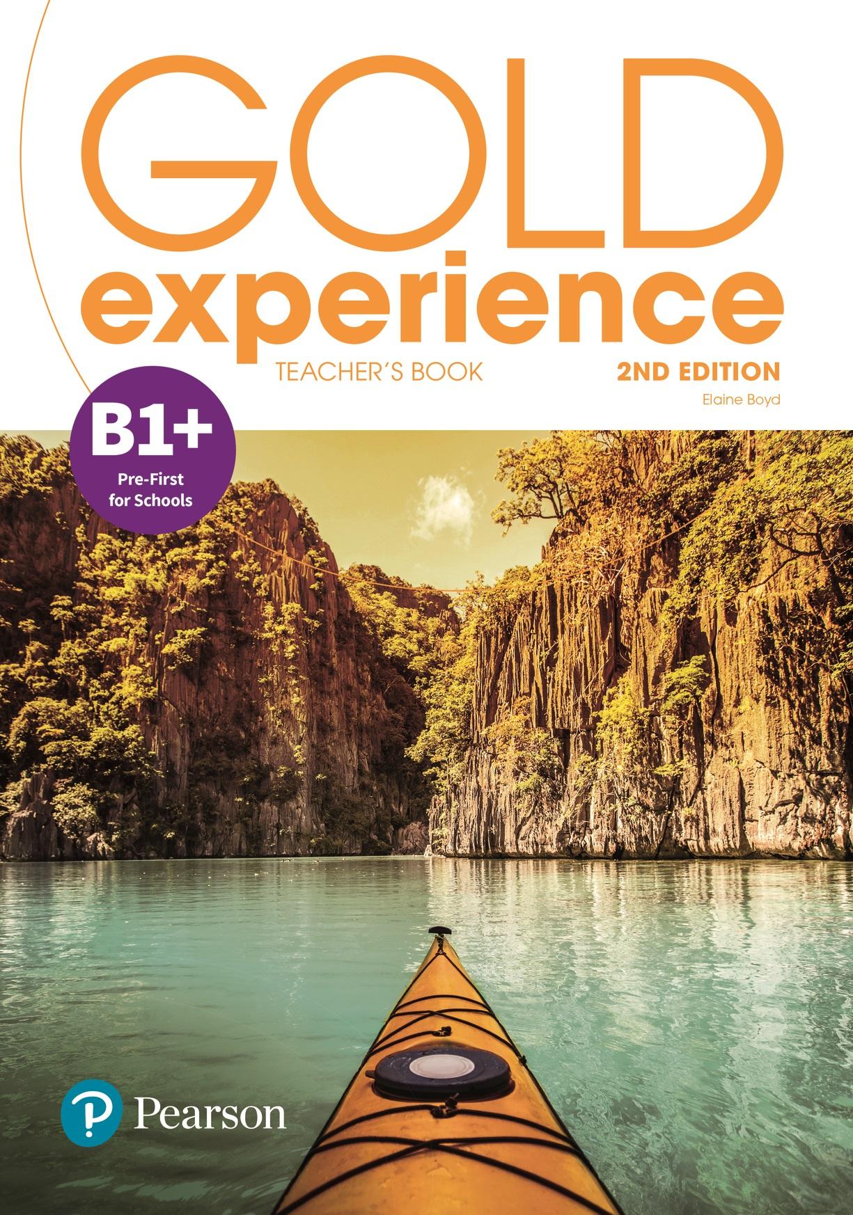 Gold Experience 2nd Edition B1+. Książka Nauczyciela + Online Practice + Online Resources Pack