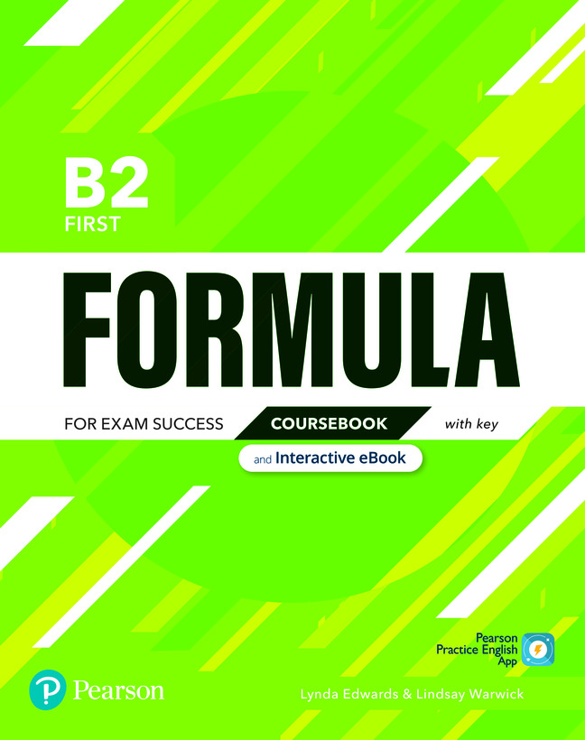 Formula. B2 First. Coursebook with key with student online resources + App + eBook