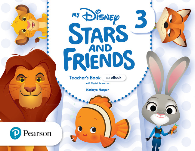 My Disney Stars and Friends 3. Teacher's Book + eBook with digital resources