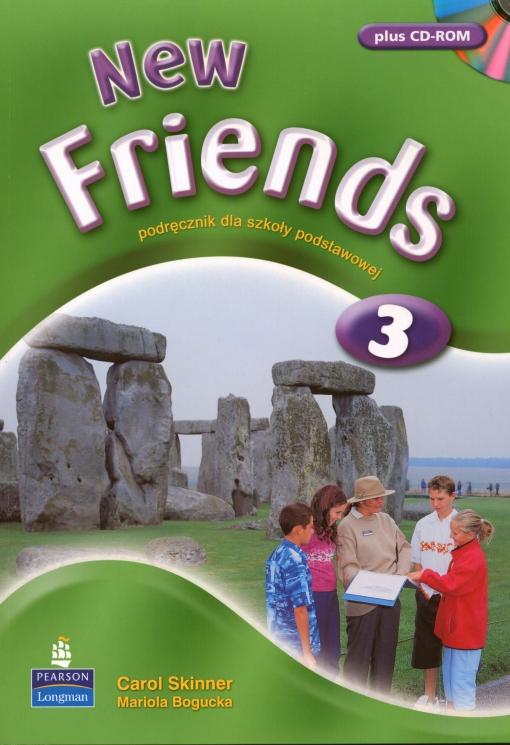 New Friends 3.    Podręcznik + CD-ROM