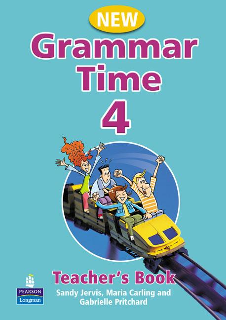 New Grammar Time 4.    Książka Nauczyciela