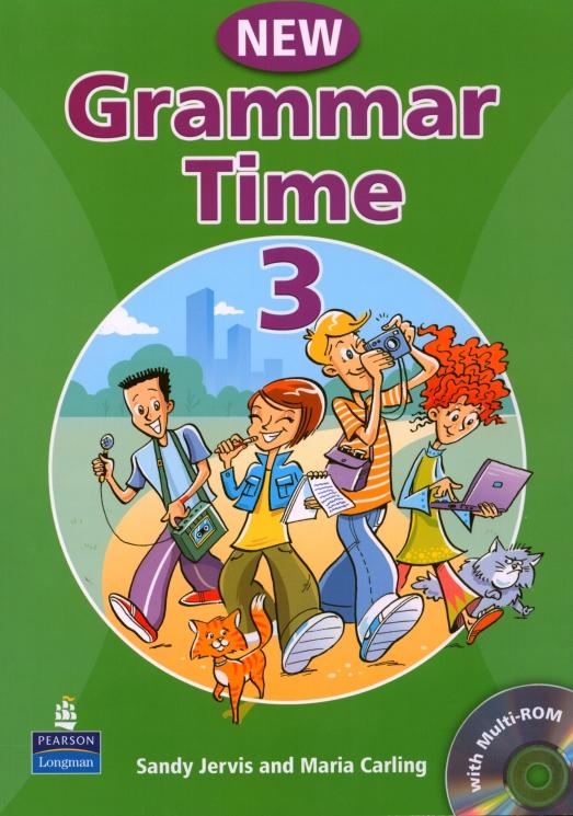 New Grammar Time 3. Podręcznik + CD