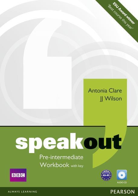 Speakout Pre-Intermediate.   Ćwiczenia z Kluczem + CD