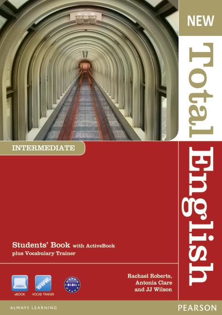 New Total English Intermediate.   Podręcznik + Active Book