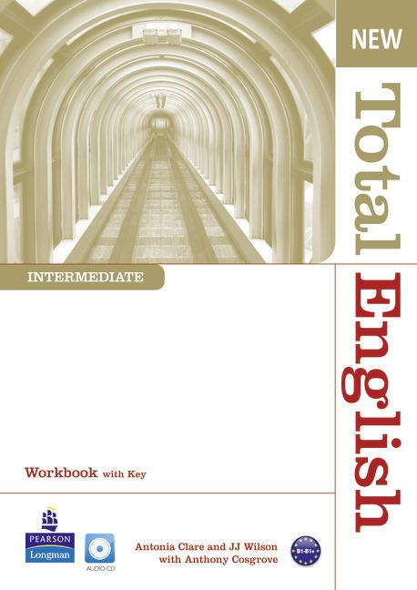 New Total English Intermediate. Ćwiczenia z Kluczem + CD