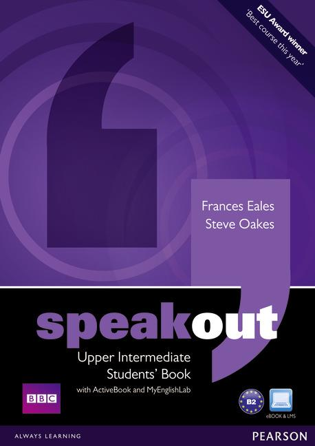 Speakout Upper Intermediate.   Podręcznik + Active Book + DVD + MyEnglishLab