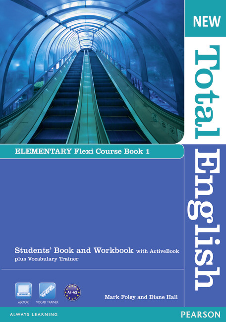 New Total English Elementary.   Flexi Course Book 1