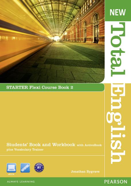 New Total English Starter.   Flexi Course Book 2