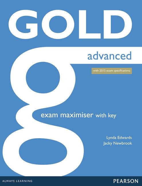 Gold Advanced. Ćwiczenia z Kluczem + Audio Online