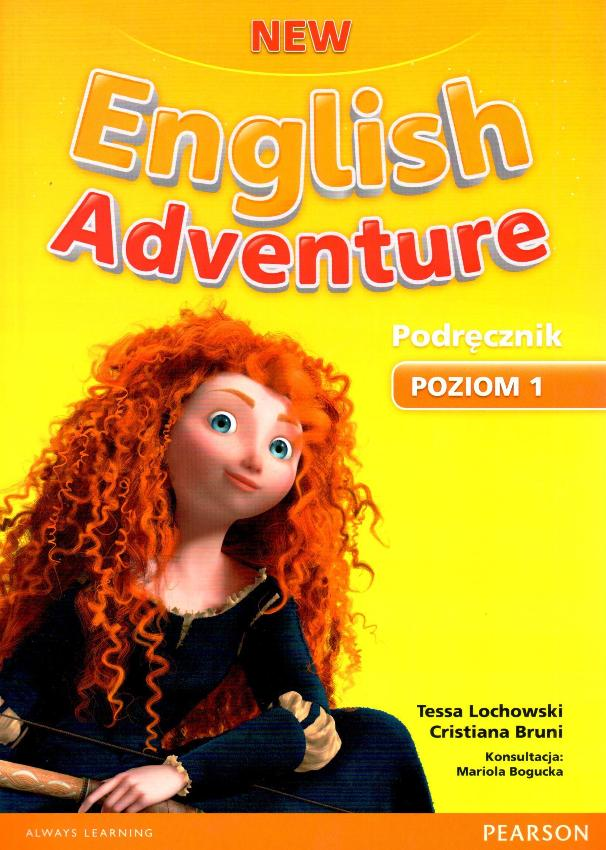 New English Adventure 1. Podręcznik + DVD