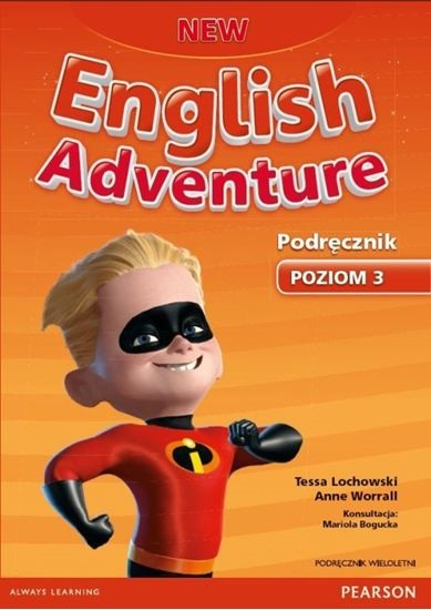 New English Adventure 3. Podręcznik Wieloletni + MP3