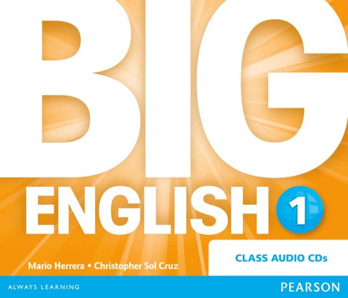Big English 1. CD do Podręcznika