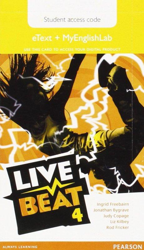 Live Beat GL 4 eText & MyEngLab Access Card