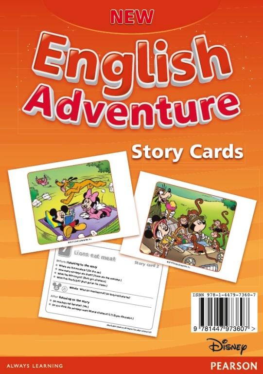 New English Adventure 3. Storycards