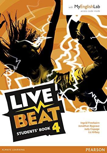 Live Beat GL 4. Podręcznik + MyEngLab Pack. Wersja Dla Szkół Językowych