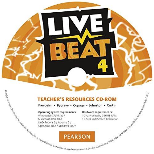 Live Beat GL 4. Teacher's Resources CD-ROM. Wersja Dla Szkół Językowych