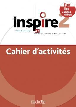 Inspire 2. Ćwiczenia + audio online + kod (ćwiczenia online) /PACK/