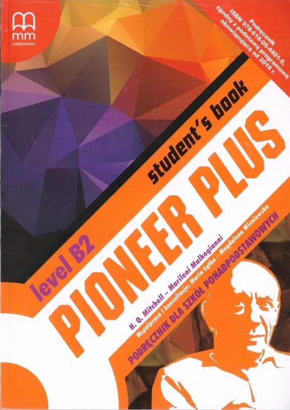 Pioneer Plus B2. Szkoła ponadpodstawowa. Student's Book + CD