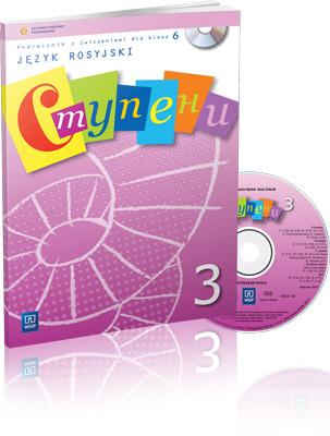 Stupieni 3. Podręcznik + CD. Klasa 6. Szkoła Podstawowa
