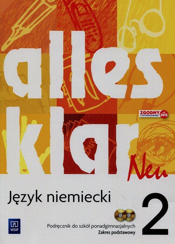 Alles Klar Neu 2. Podręcznik + CD. Zakres Podstawowy
