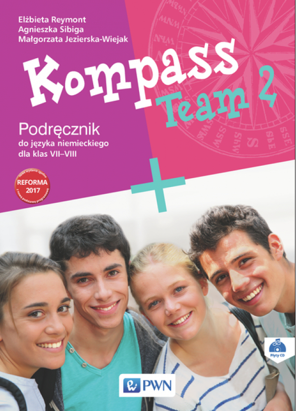 Kompass Team 2. Język Niemiecki. Podręcznik Wieloletni. Klasa 7-8